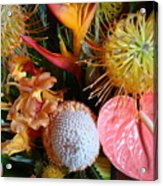 Tropical Bouquet Acrylic Print
