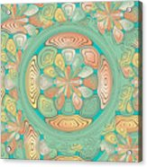 Tropical Color Abstract Acrylic Print