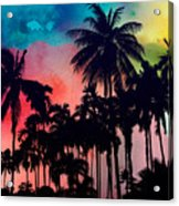 Tropical Colors Acrylic Print