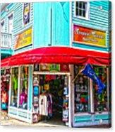 Tropical Corner Key West Florida Acrylic Print