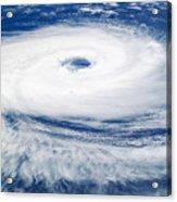 Tropical Cyclone Catarina Acrylic Print