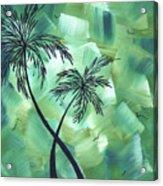 Tropical Dance 3 By Madart Acrylic Print
