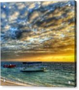 Tropical Dawn Acrylic Print