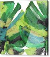 Tropical Dreams 1- Art By Linda Woods Acrylic Print