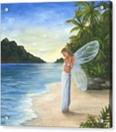 Tropical Fairy Acrylic Print