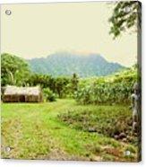 Tropical Farm Acrylic Print