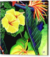 Tropical Flower Arrangement #251 Acrylic Print