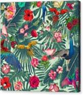 Tropical Fun Time  Acrylic Print
