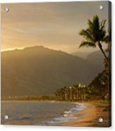 Tropical Hawaiian Paradise Acrylic Print