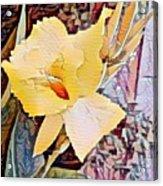 Tropical Lilly Acrylic Print
