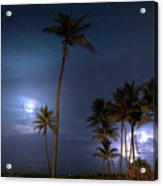 Tropical Moon Acrylic Print