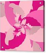 Tropical Pink Acrylic Print