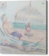 Tropical Repose Acrylic Print
