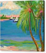 Tropical Sails Acrylic Print