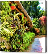 Tropical Splendor Acrylic Print