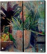 Tropical Still Life Acrylic Print