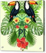 Tropical Summer  Acrylic Print
