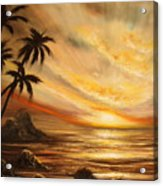 Tropical Sunset 65 Acrylic Print