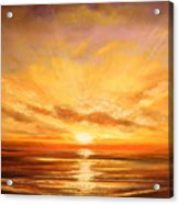 Tropical Sunset 75 Acrylic Print