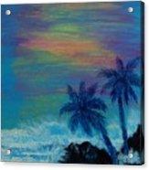 Tropical Sunset Acrylic Print
