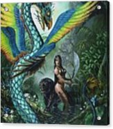 Tropical Temptress Acrylic Print