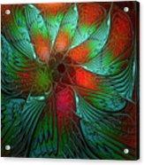 Tropical Tones Acrylic Print
