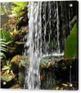 Tropical Waterfall Acrylic Print