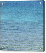 Tropical Waters Acrylic Print