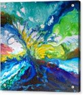 Tropical Wave Acrylic Print