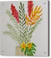 Tropicals Acrylic Print
