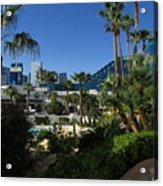 Tropicana And The M G M Grand, Las Vegas Acrylic Print