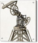 Troughton Equatorial Telescope, 19th Acrylic Print
