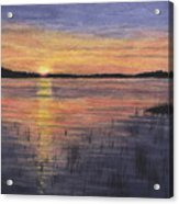 Trout Lake Sunset II Acrylic Print