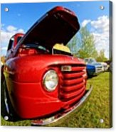 Truck Headlight Acrylic Print