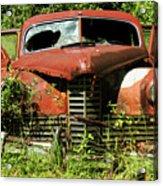 Truck In Meadow II Acrylic Print
