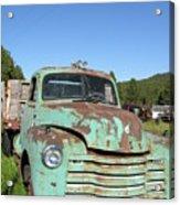 Truck Montana Acrylic Print