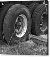 Truck Tires Acrylic Print