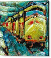 Truckee Train 2 Acrylic Print