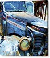 Truckin Acrylic Print by Debbi Granruth