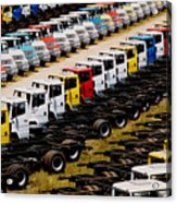 Trucks Acrylic Print
