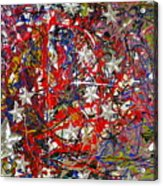 True American Colors Acrylic Print by Dylan Chambers