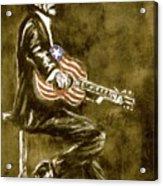True American Acrylic Print