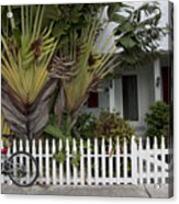 Truman Capote Lived Here Acrylic Print