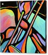 Trombonist Acrylic Print