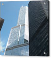 Trump Building From Other Side Acrylic Print