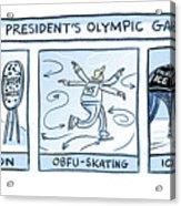 Trump Olympic Games Acrylic Print