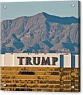 Trump Tower Nevada Acrylic Print by Andy Smy