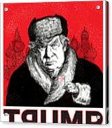 Trumpski Acrylic Print