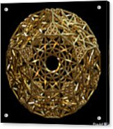 Truncated Hyper Dodecahedron Acrylic Print