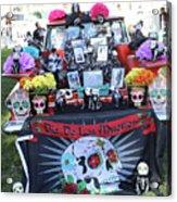 Trunk El Camino Day Dead  Acrylic Print